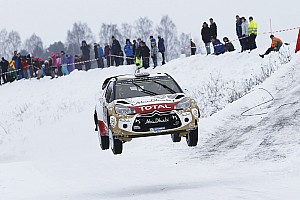Mads Østberg on course for podium spot in Sweden!