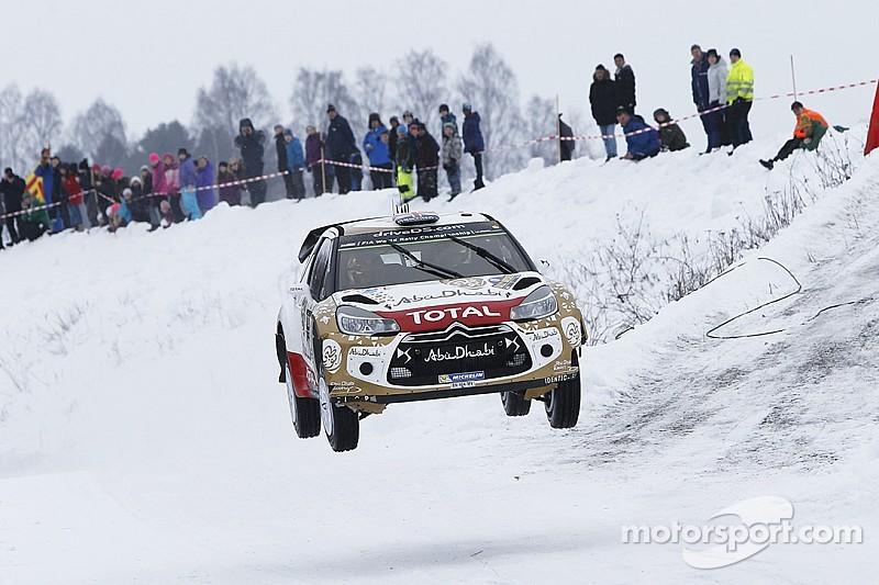 Mads Østberg on course for podium spot in Sweden!