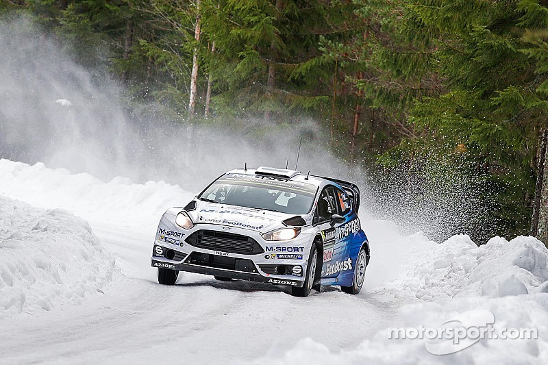 M-Sport adopt risk-free strategy on Rally Sweden