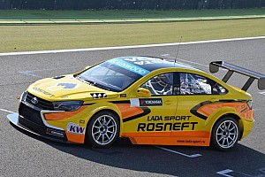 WTCC Breaking news New WTCC Lada a big step forward - Huff