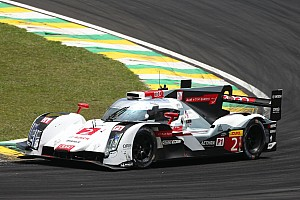 Three friends in the Audi R18 e-tron quattro
