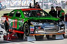 Danica Patrick's water line  problems stall Sprint Cup practice