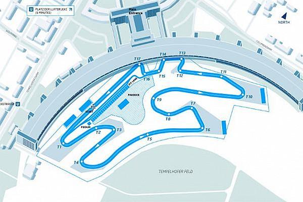 Formula E reveals Berlin ePrix airport track layout