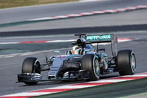 Formula 1 Testing report Hamilton sets early pace, McLaren hits more trouble