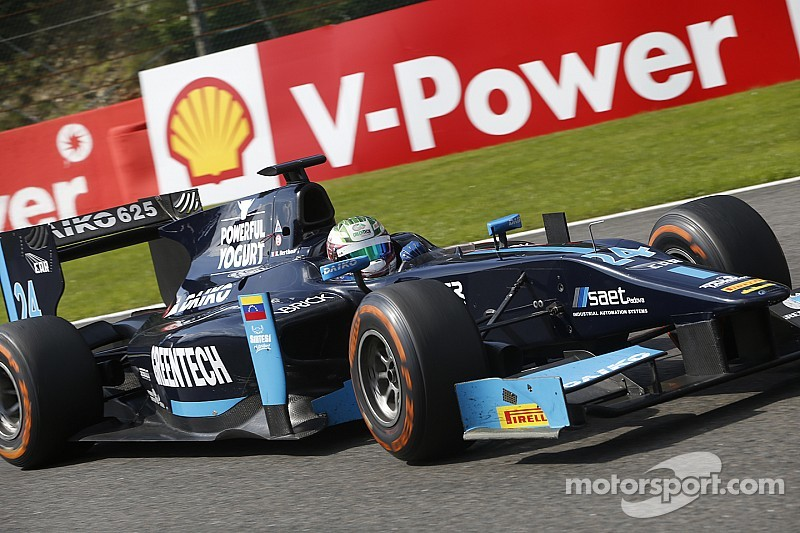 Berthon stays with Lazarus for 2015 GP2 season