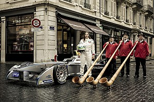 Formula E takes to the streets of Geneva