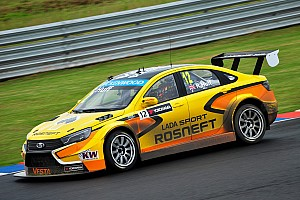 WTCC Qualifying report Lada grab pole position on Vesta TC1 debut in Argentina WTCC