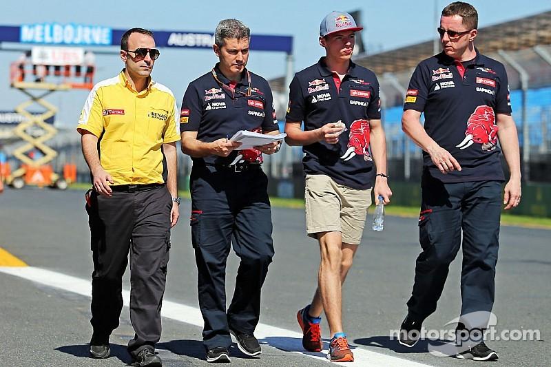 Verstappen del debut en la F1: