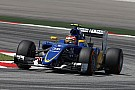 Raffaele Marciello debut on the Sauber C34 on the FP1 for the Malaysian GP