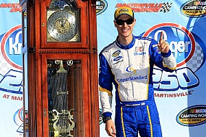 NASCAR Truck Reporte de la carrera Logano gana las camionetas en Martinsville