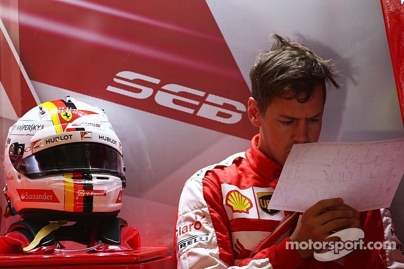 Vettel eyes step forward on Saturday