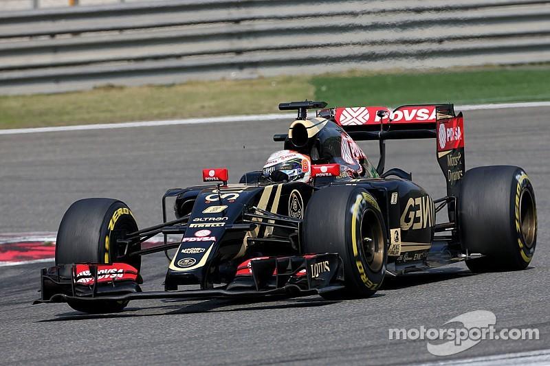 Grosjean dedica el resultado de China