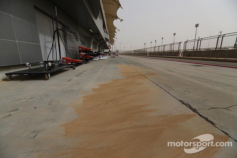 Sandstorm hits Bahrain ahead of F1 race