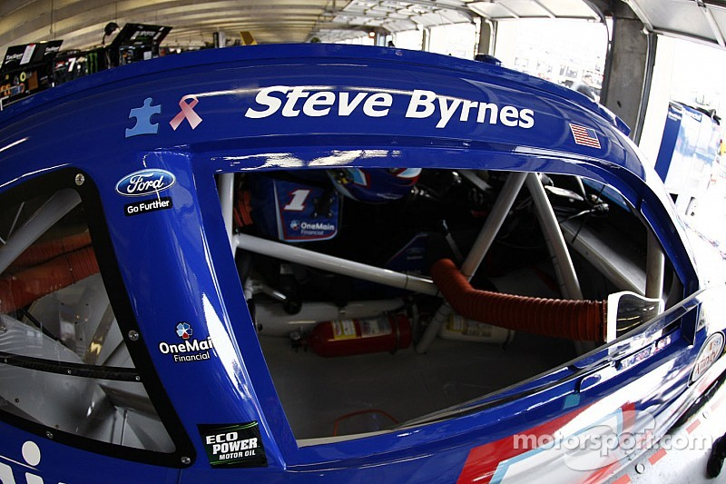 NASCAR paying tribute to Steve Byrnes in big way at Bristol