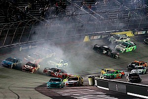NASCAR Sprint Cup Race report Busch battles adversity at Bristol