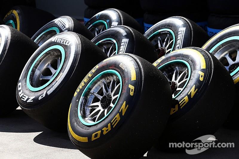 Pirelli unveils tyre compounds for next four races