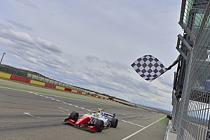 Formula 3.5 Race report Van Buuren penalty gifts Rowland first Aragon win
