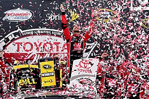 NASCAR Sprint Cup Race report Busch makes a statement with Richmond victory
