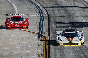 Action Express Racing charging into the Monterey Grand Prix