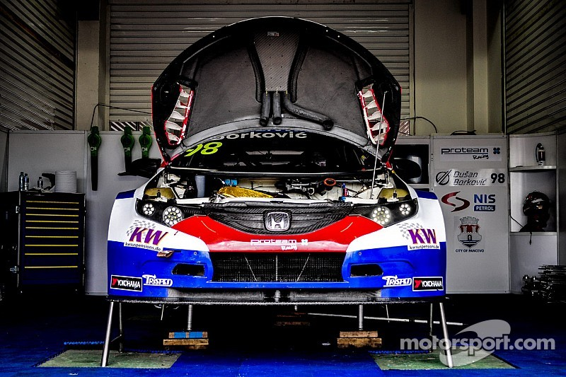 Proteam will not race in Hungary WTCC round