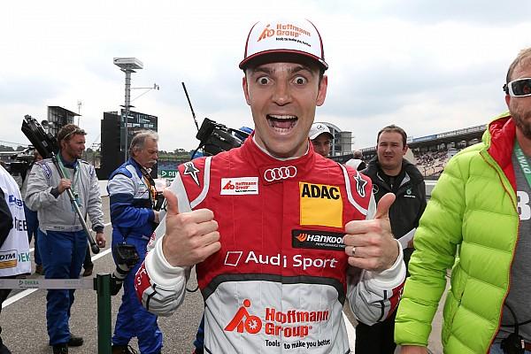 Green wins crash-filled DTM opener at Hockenheim