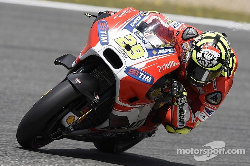 Andrea Iannone saldrá adelante en Jerez