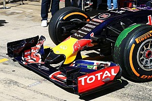 New Red Bull nose an
