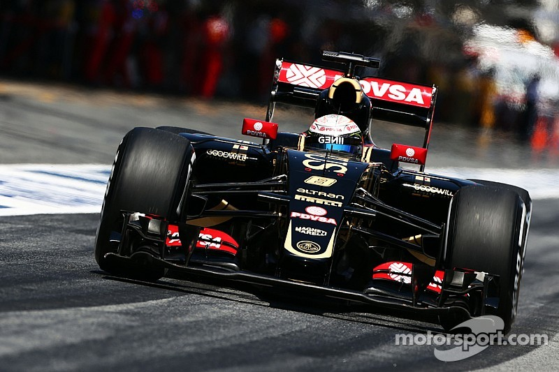 For the first time this year Lotus failed to break into the top ten on the grid