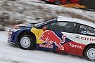 Primi passi sulla C4 WRC per Raikkonen