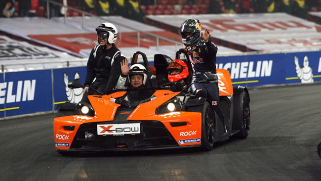La Race of Champions si disputerà a Dusseldorf