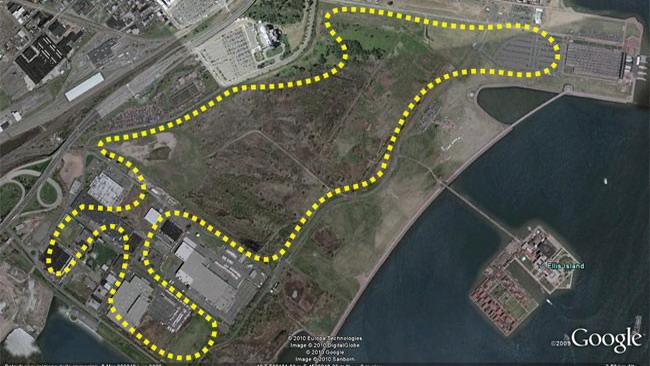 Ecco il progetto per portare la F1 a New York nel 2012!