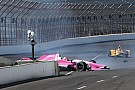 Pippa Mann crashes into the end of Indianapolis pit wall - video