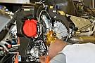 Sul V6 Turbo Mercedes tiranti di irrigidimento