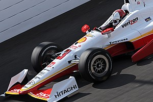 IndyCar Practice report Castroneves throws down 233.474mph lap Saturday morning