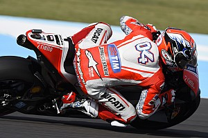 Dovizioso on top again in FP2 at Mugello