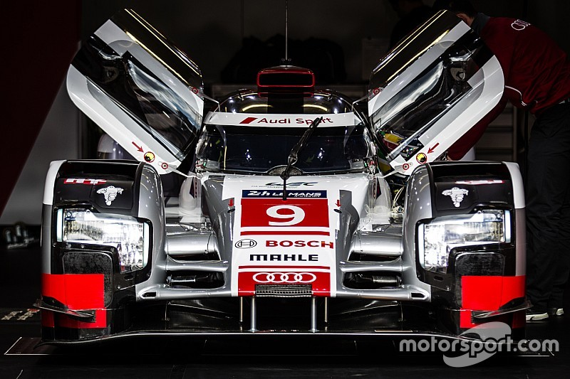 Audi unfazed by Porsche's qualifying pace