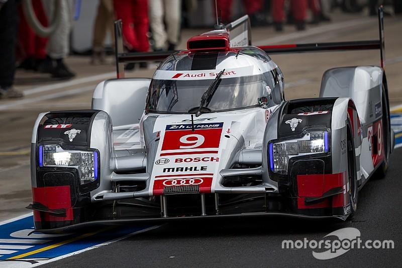 Audi domina en el warm up