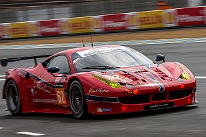 Le Mans Race report Scuderia Corsa charges to the podium in Le Mans debut
