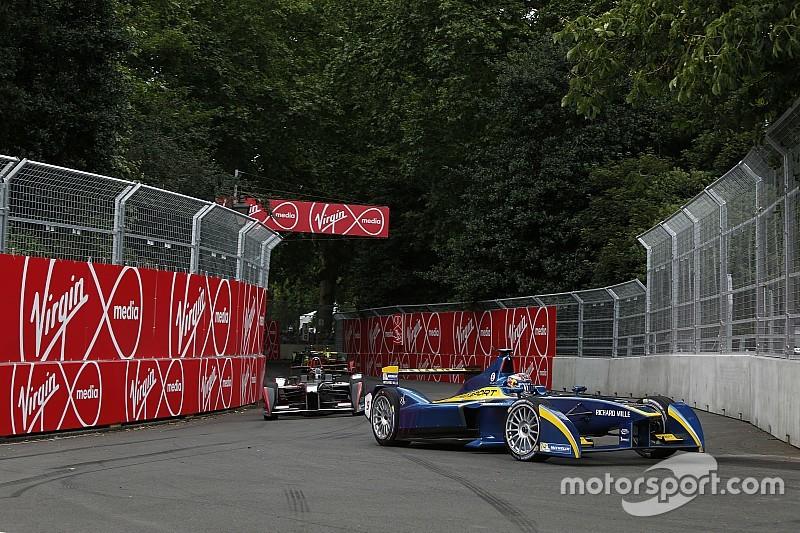 London ePrix: Standing start for final race