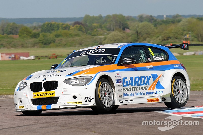 Collard completes BMW clean sweep at Croft