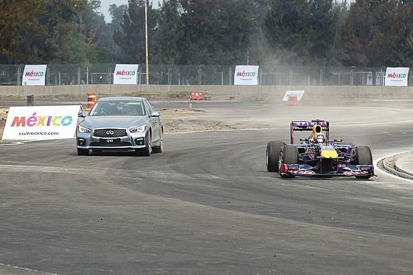 Ricciardo given sneak peak of Mexican GP circuit
