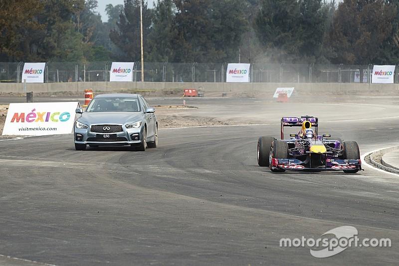 Ricciardo given sneak peek of Mexican GP circuit