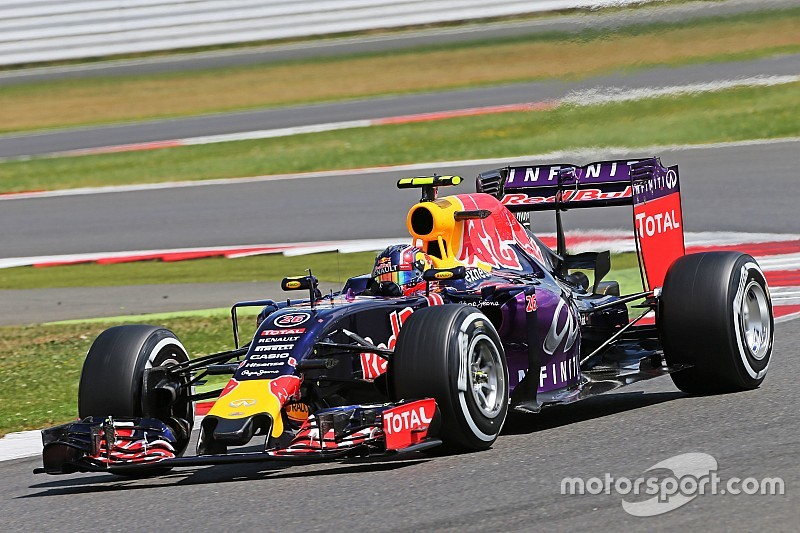 Mixed fortunes for Red Bull on qualifying at Silverstone