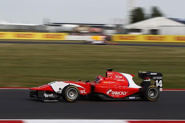 Silverstone GP3: Ceccon controls sprint race for maiden win