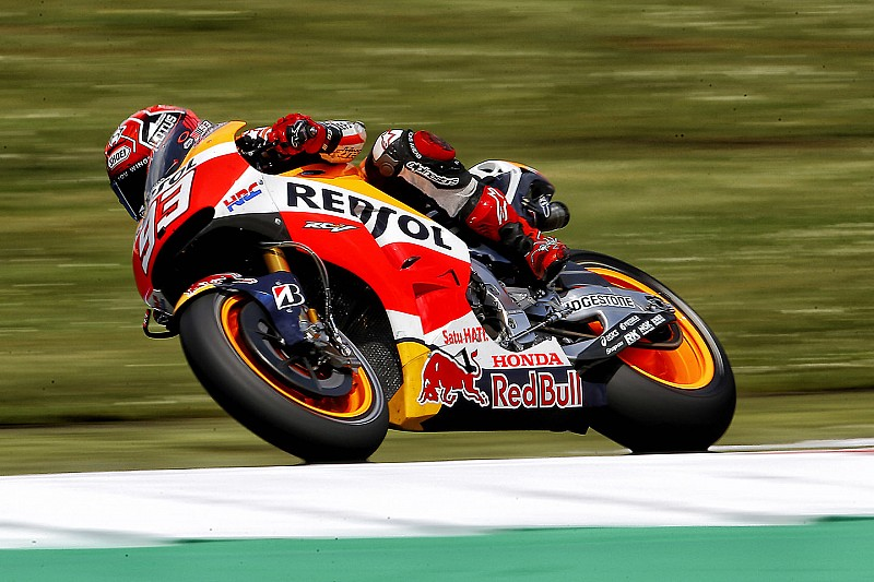 Sachsenring MotoGP: Marquez fastest again from Smith