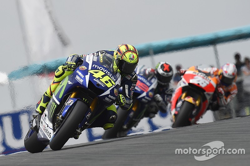 """Rossi: It was """"impossible"""" to beat the Hondas"""