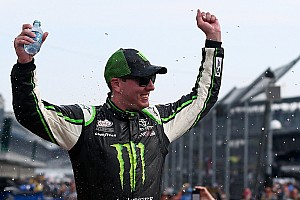 NASCAR XFINITY Race report Busch steals all the glory from Blaney on the final lap