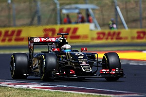 Good result for Lotus' Grosjean in an eventful Hungarian GP