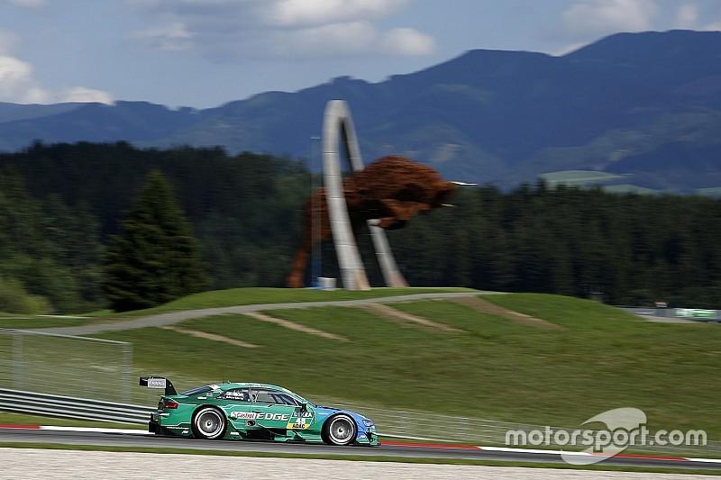 Pole de Mortara para la primera carrera de DTM en Spielberg