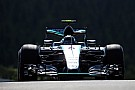 Practice halted after Rosberg tyre failure